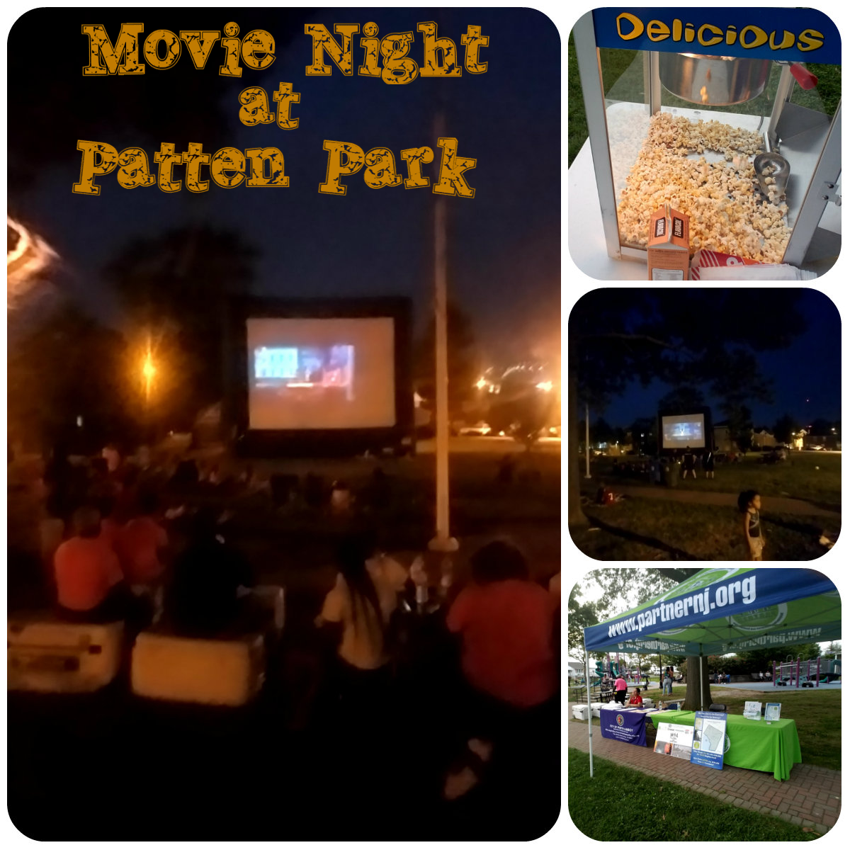 Movie Night at the Park July 2017