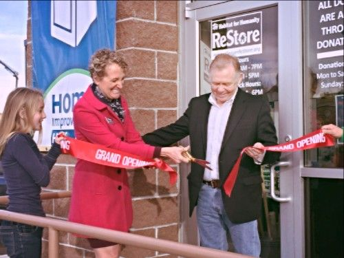 Goodwill and Habitat for Humanity Celebrate One-of-a-Kind Partnership