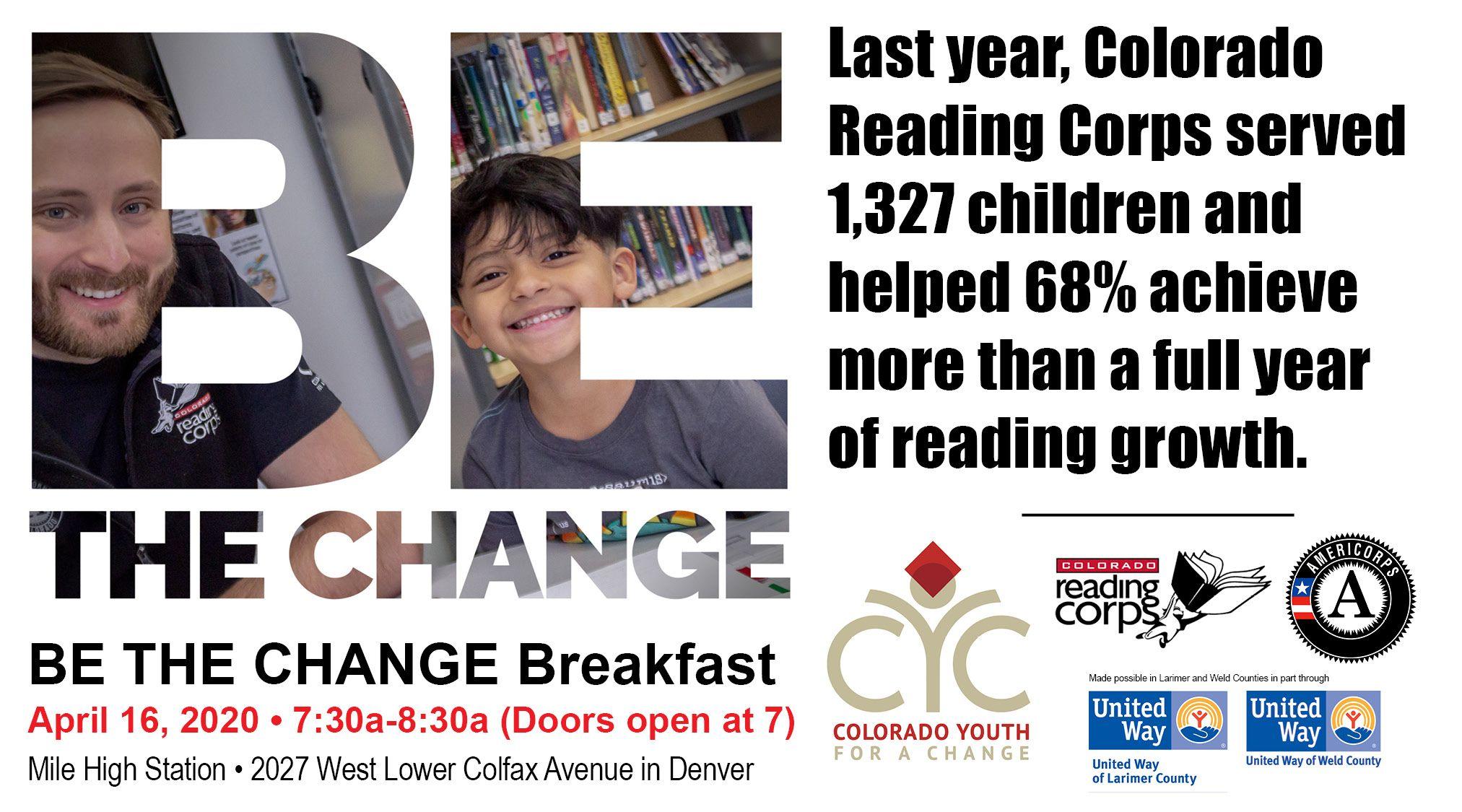 Be the Change Breakfast