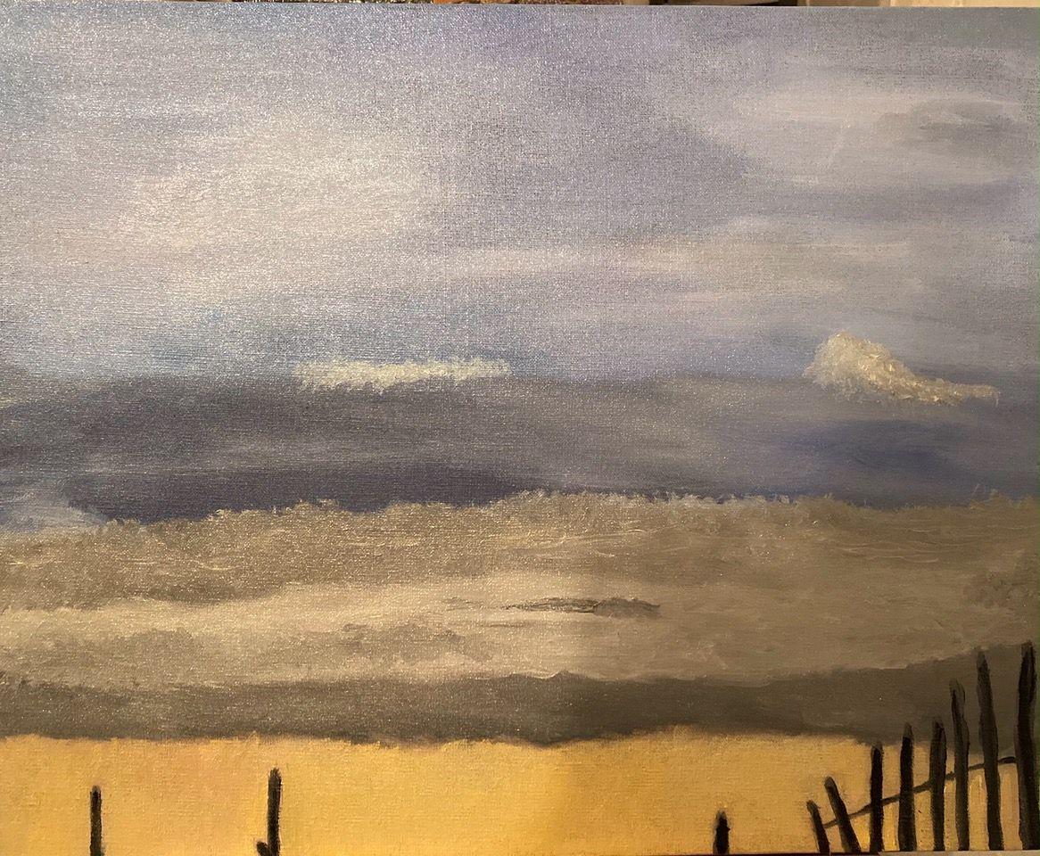 Artist: Stephen Ness, Oil on Canvas