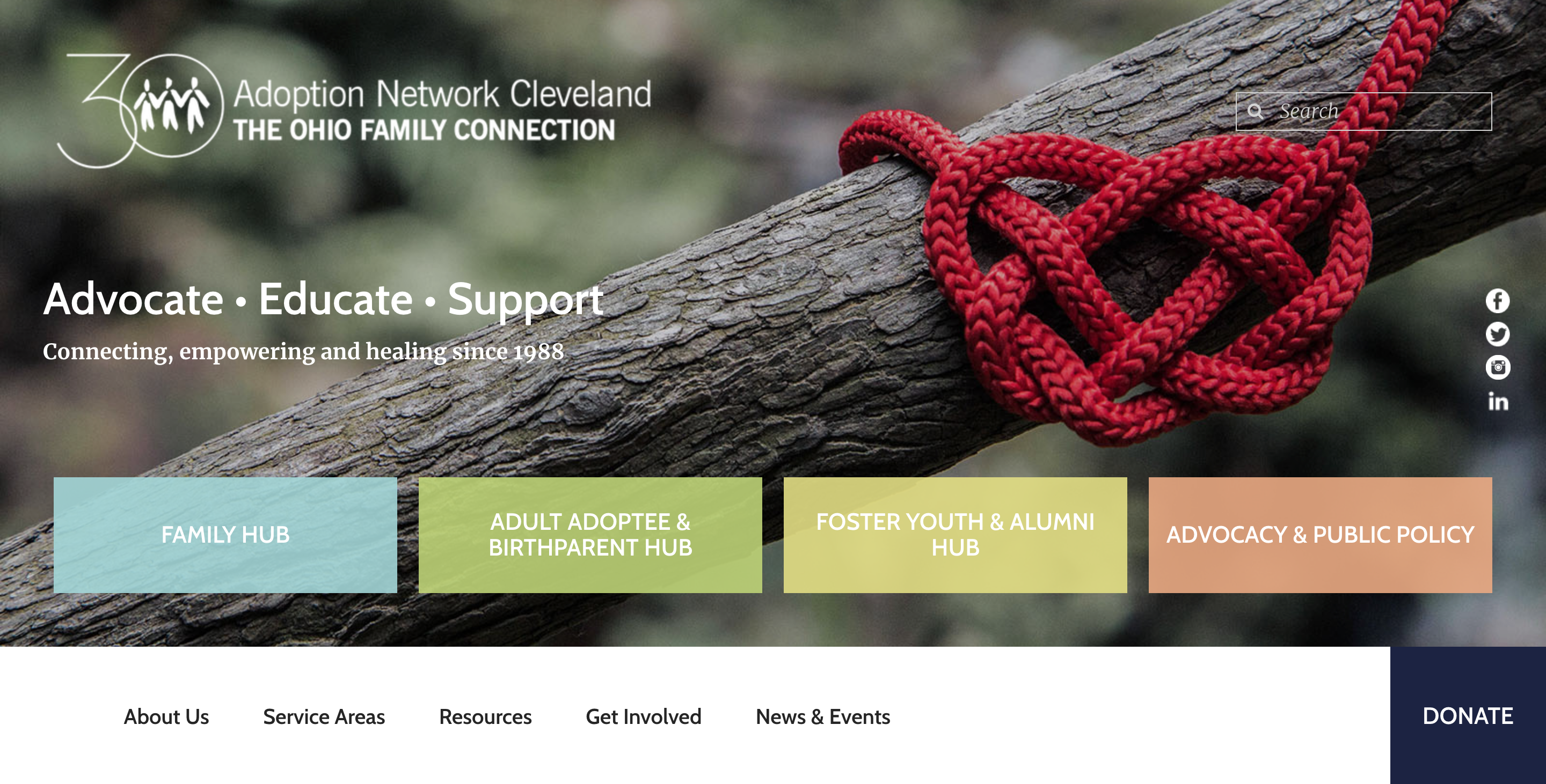 Adoption Network Cleveland launches new website, new tagline expanding reach