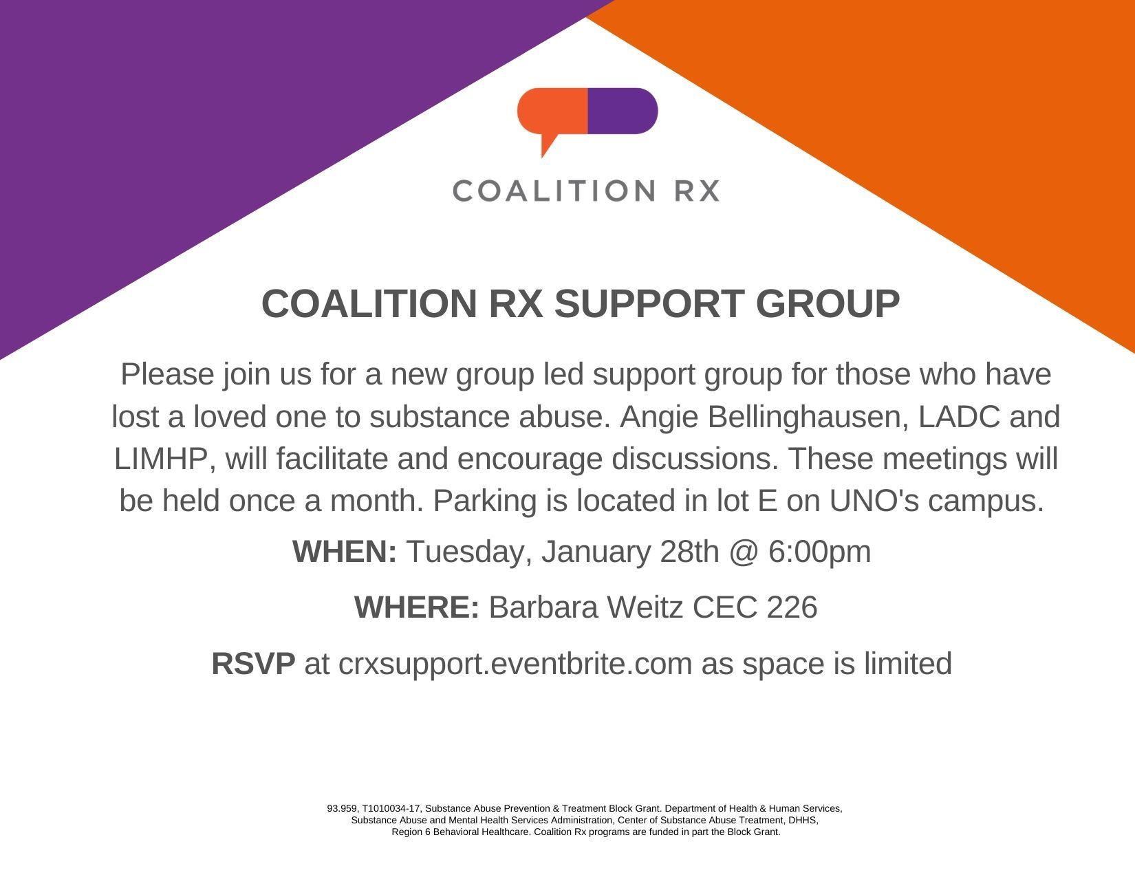 Coalition Rx Support Group