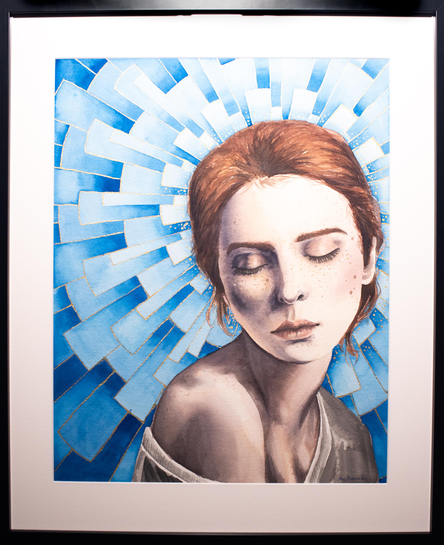 "Lori Orlowski - ""Blue Halo"""