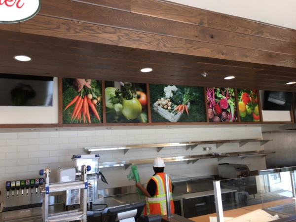 Restaurant Wall Graphics In Orange County CA