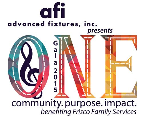 Frisco Family Services announces Advanced Fixtures, Inc. as Title Sponsor for Gala 2015 - ONE