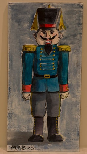 """The Nutcracker"" - Donated by the artist, Mary Ann Bucci"