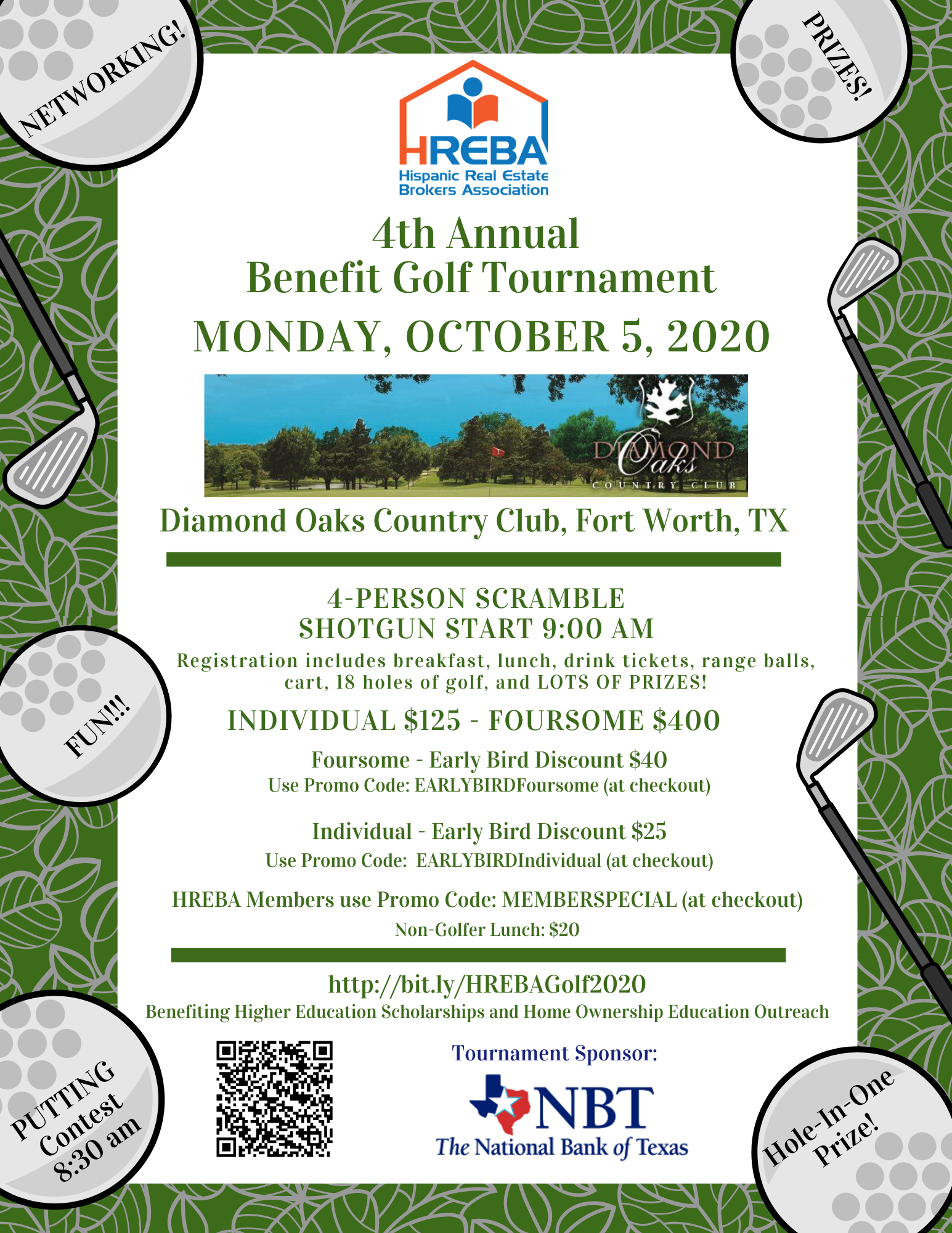 4th Annual HREBA Benefit Golf Tournament