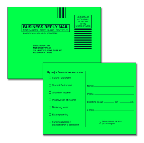 Reply Cards