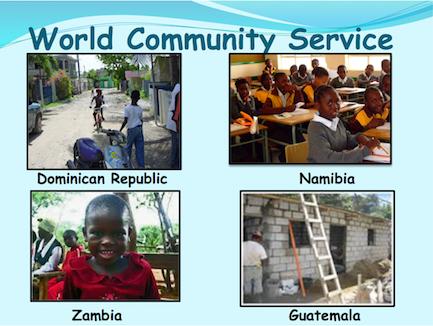 Rotary #14 World Fellowship and Community Service