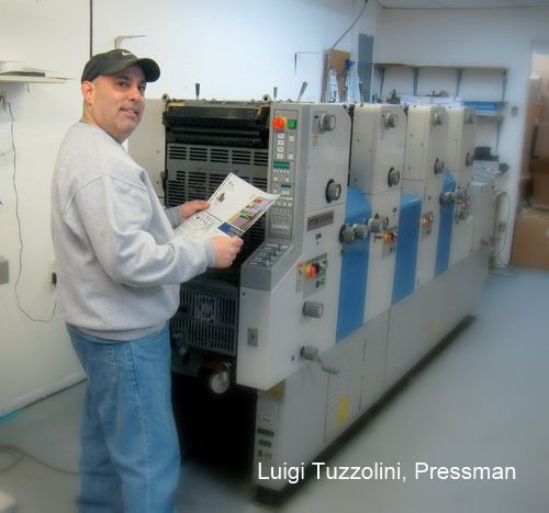 Luigi Tuzzolini, Pressman
