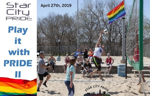 Play It With Pride II - SCP Sand Volleyball Tournament