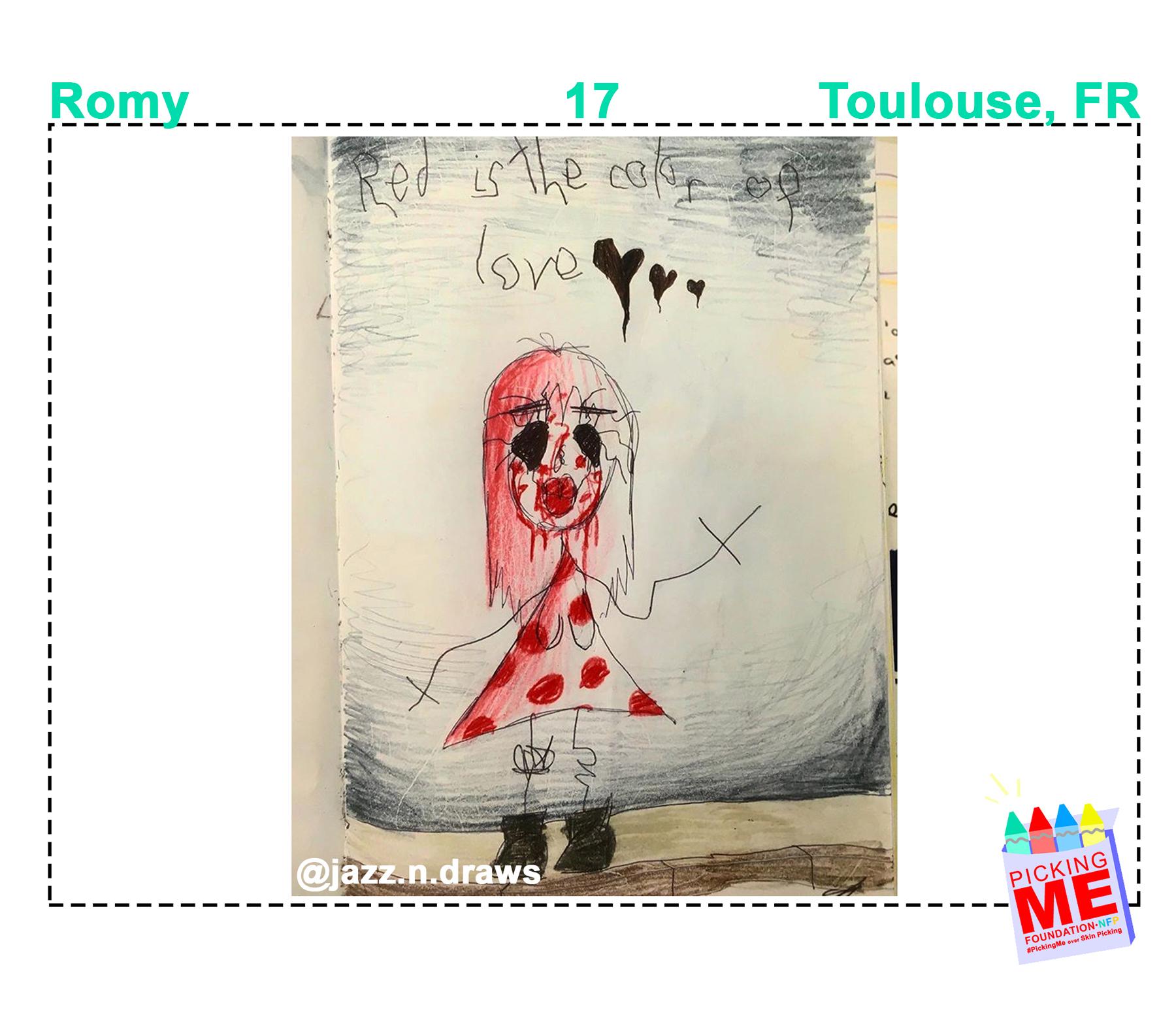 #DrawingWithDerma: Romy