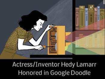 Hedy Lamarr Google Doodle