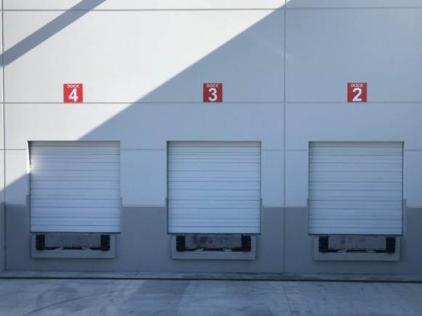 Warehouse Loading Dock Signs and Vinyl Numbers