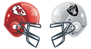 Purchase Raffle Tickets For Chiefs VS Raiders  Game Here