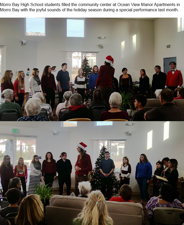 Holiday Recap: Morro Bay High School Sings the Sounds of the Holidays