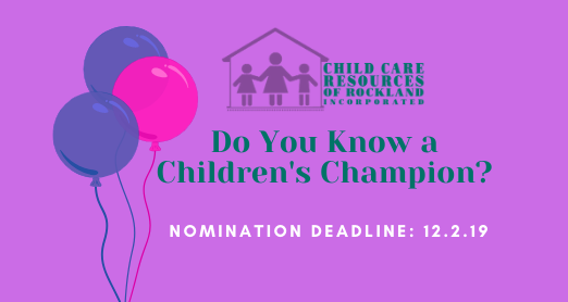 Do You Know A Children's Champion?