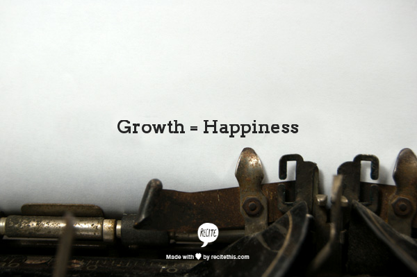 Guest Post: Why Personal Growth?