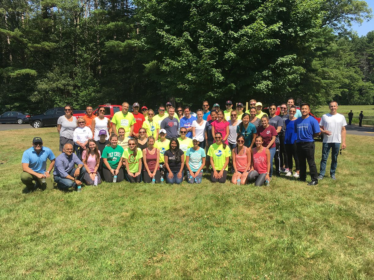 Dell Volunteers Keep Hopkinton Litter-Free