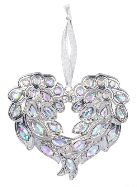 Angel Wing Heart Ornament