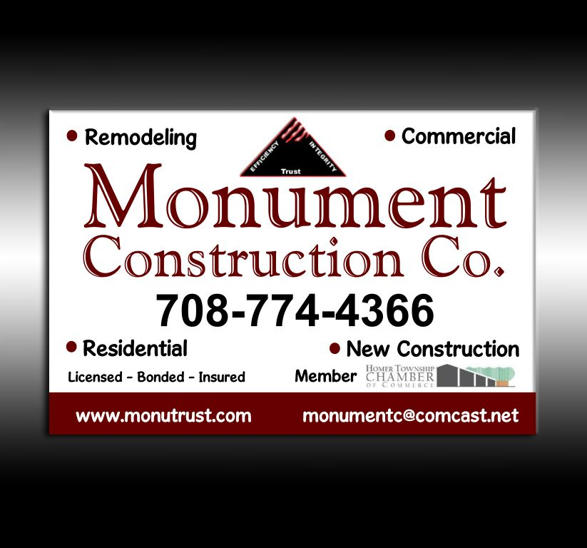 Monument Construction