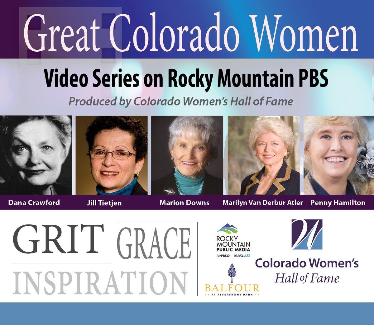 Great Colorado Women Premiers on RMPBS