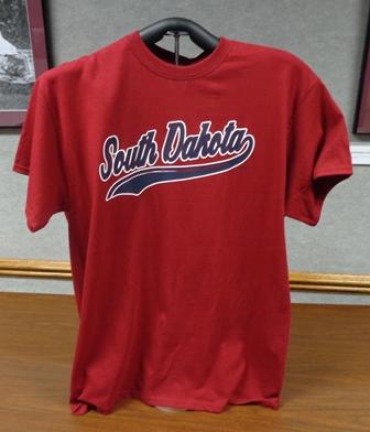 T-Shirt - Red South Dakota