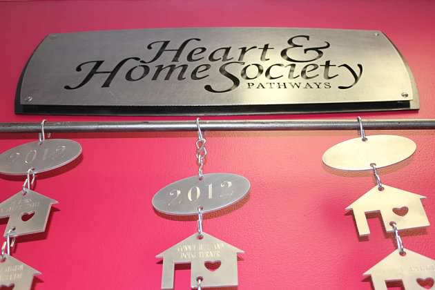 New Heart & Home Society Donor Wall Unveiled