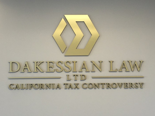 Lobby signs for Attorneys in LA County