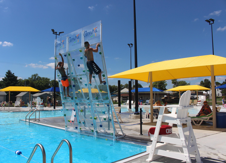 Geneva enjoyed new aquatic center this summer