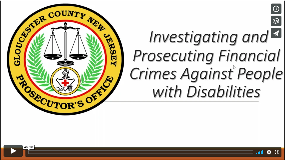 Understanding and Protecting People with Intellectual and Developmental Disabilities from Financial Crimes
