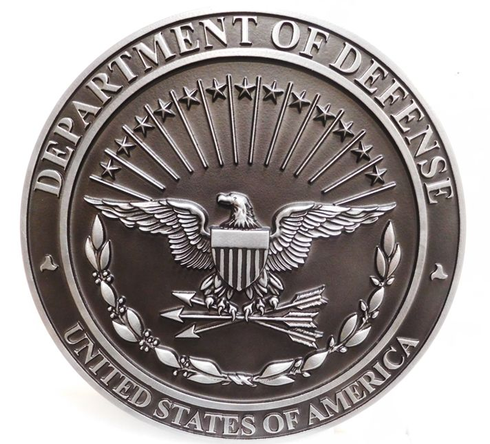 MD4145 - Seal of the Department of Defense, 3-D