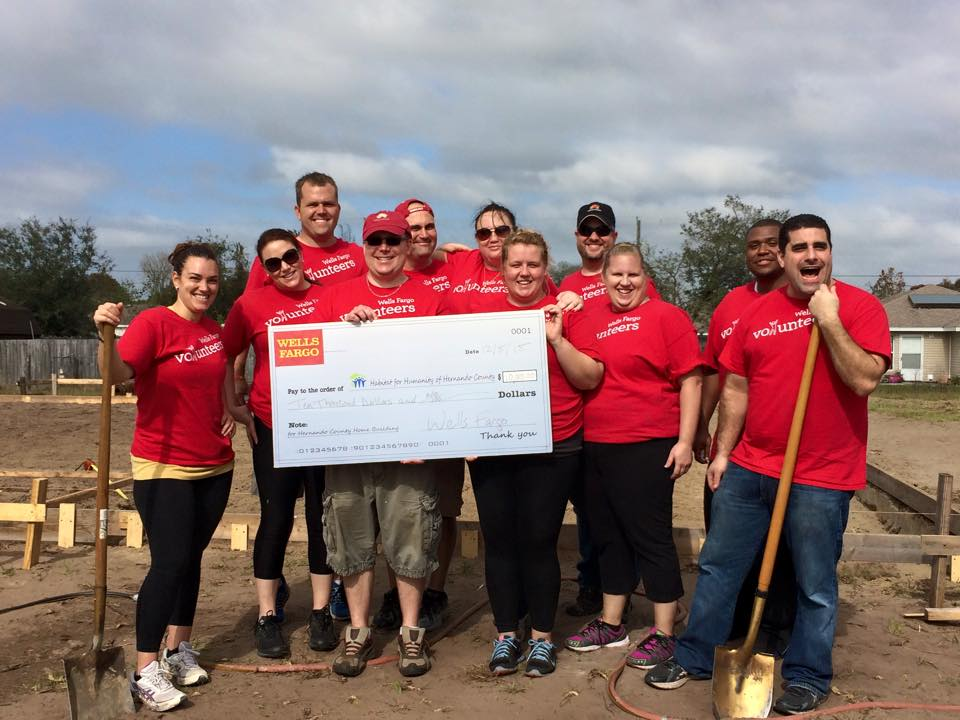 Wells Fargo Team Build Day 2016 - Thomas House
