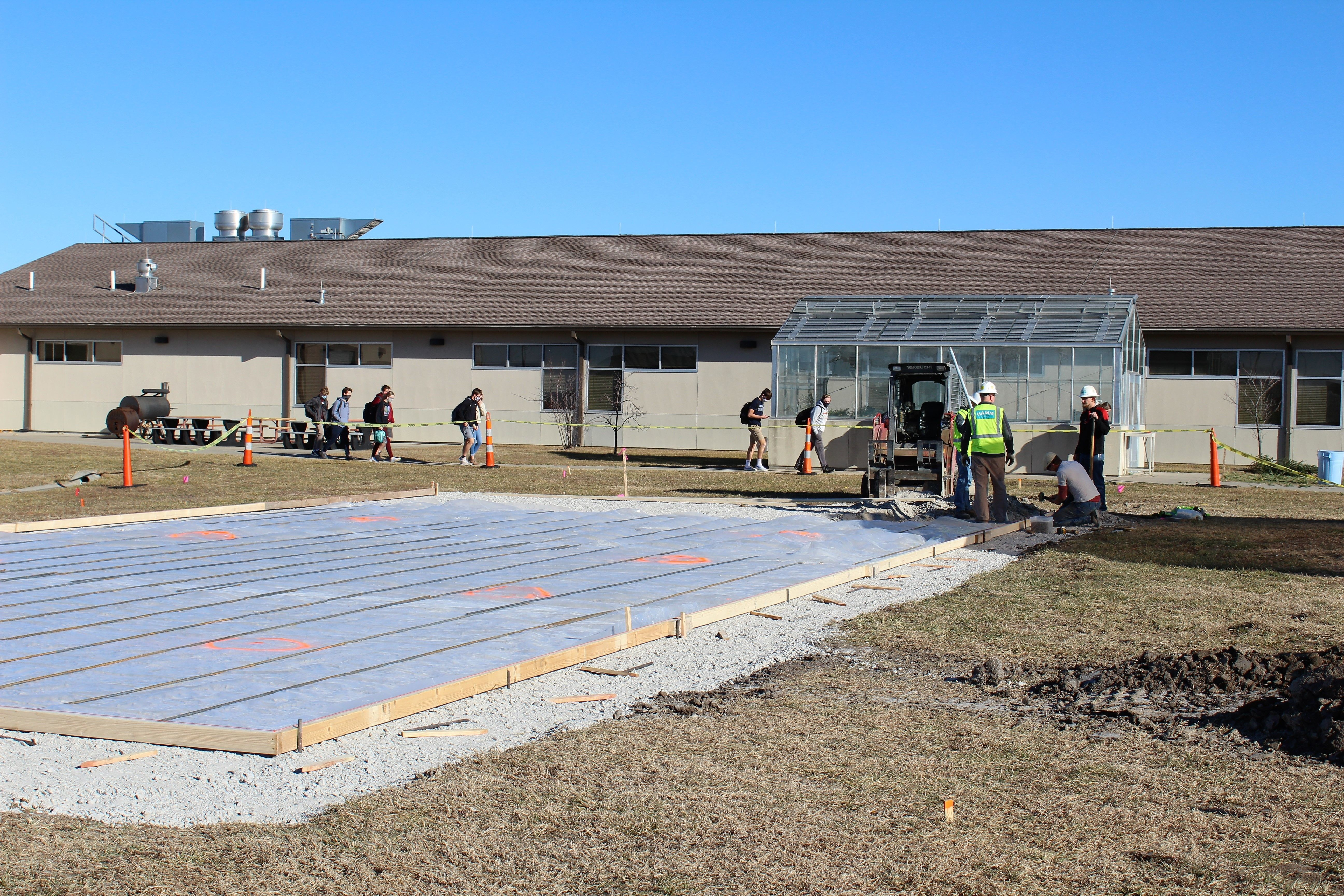 Eudora Schools Foundation receives $10,000 grant from LiveWell Douglas County to build an Outdoor Learning and Culinary Center at Eudora High School