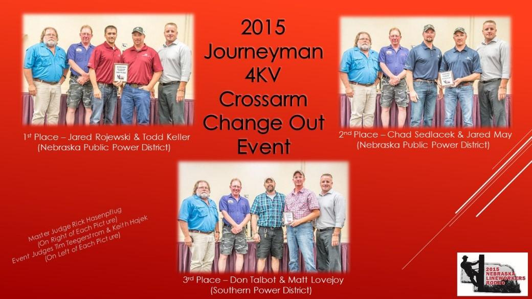 2015 Journeyman 4KV Crossarm Change Out