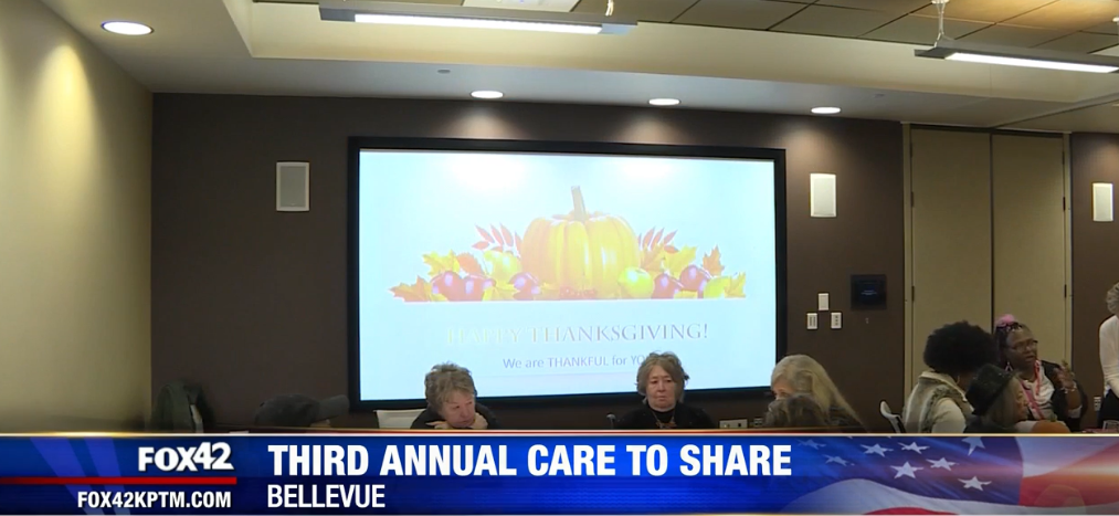 Project Pink'd Hosts Third Annual Care to Share Thanksgiving Luncheon