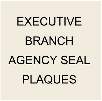 U30302 - US Government Agency & Bureau Custom Carved 3D Wooden Wall Plaques