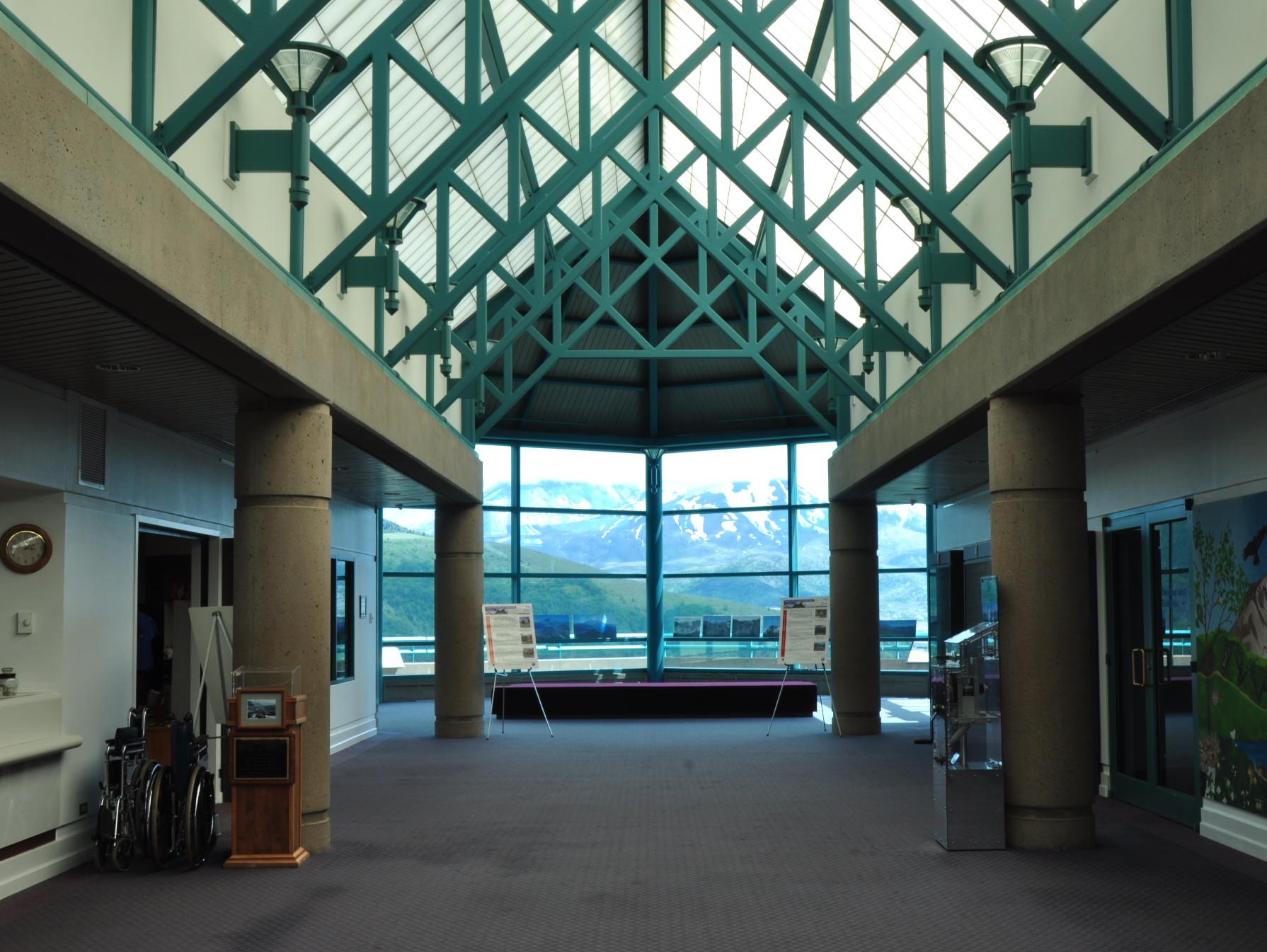 Main entry & pavilion