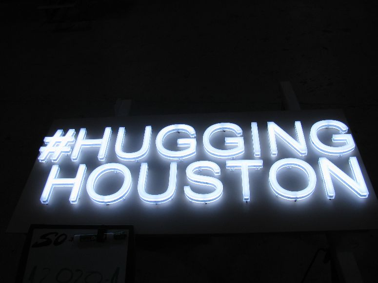 Hugging Houston