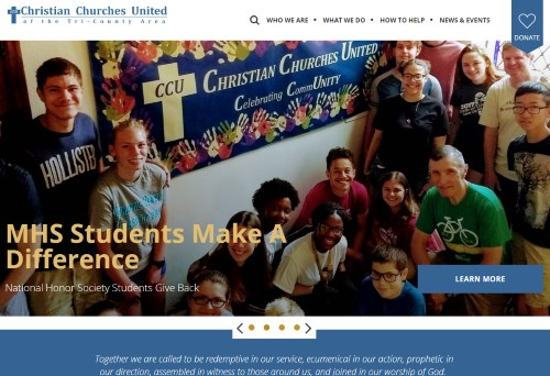 CCU Launches New Website