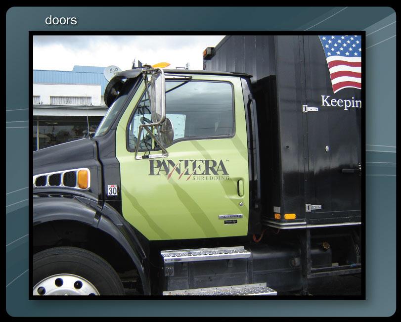 TRUCK DOORS WRAP