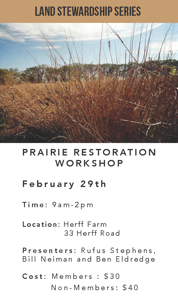 FARM:  Prairie Restoration Workshop