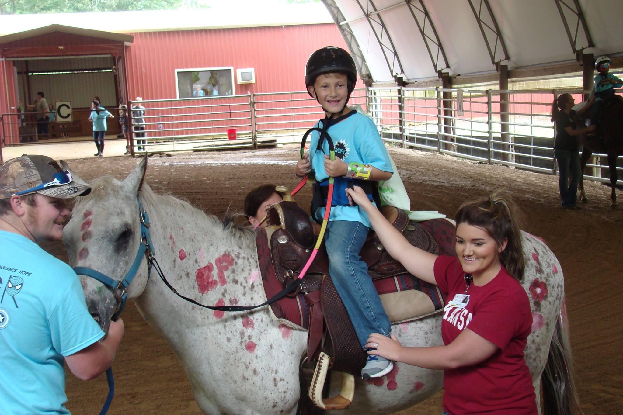 Super Hero Horse Camp Rider