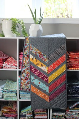 Quilting by the Week - Chevrons