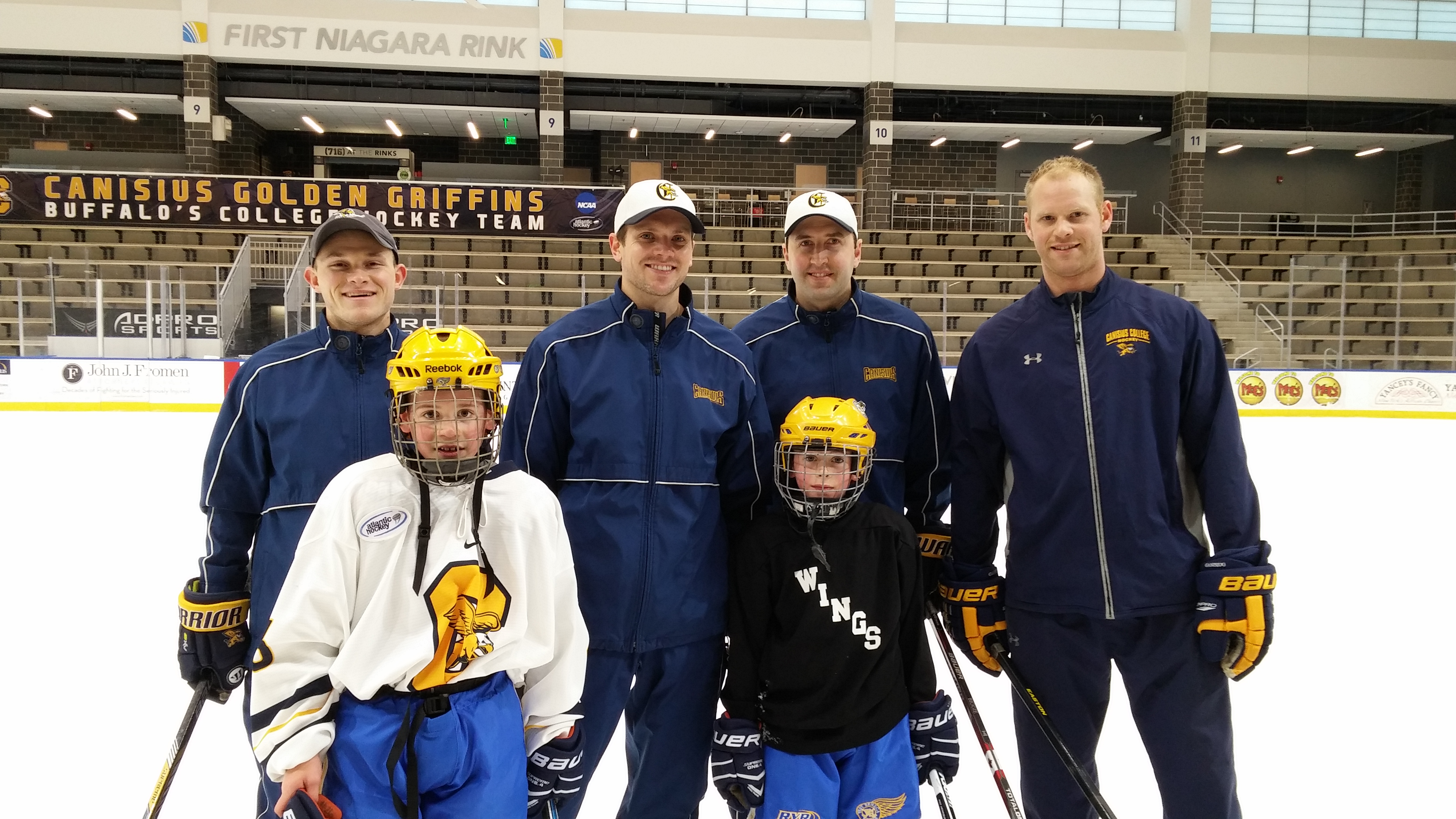 Canisius College Men's Ice Hockey Welcomes Newest Teammate