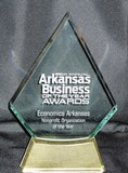 Business of the Year Award acrylic