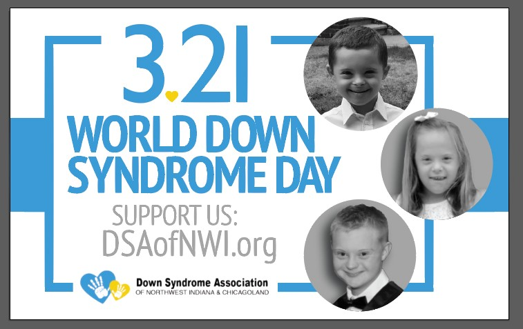 Celebrate World Down Syndrome Day 3/21