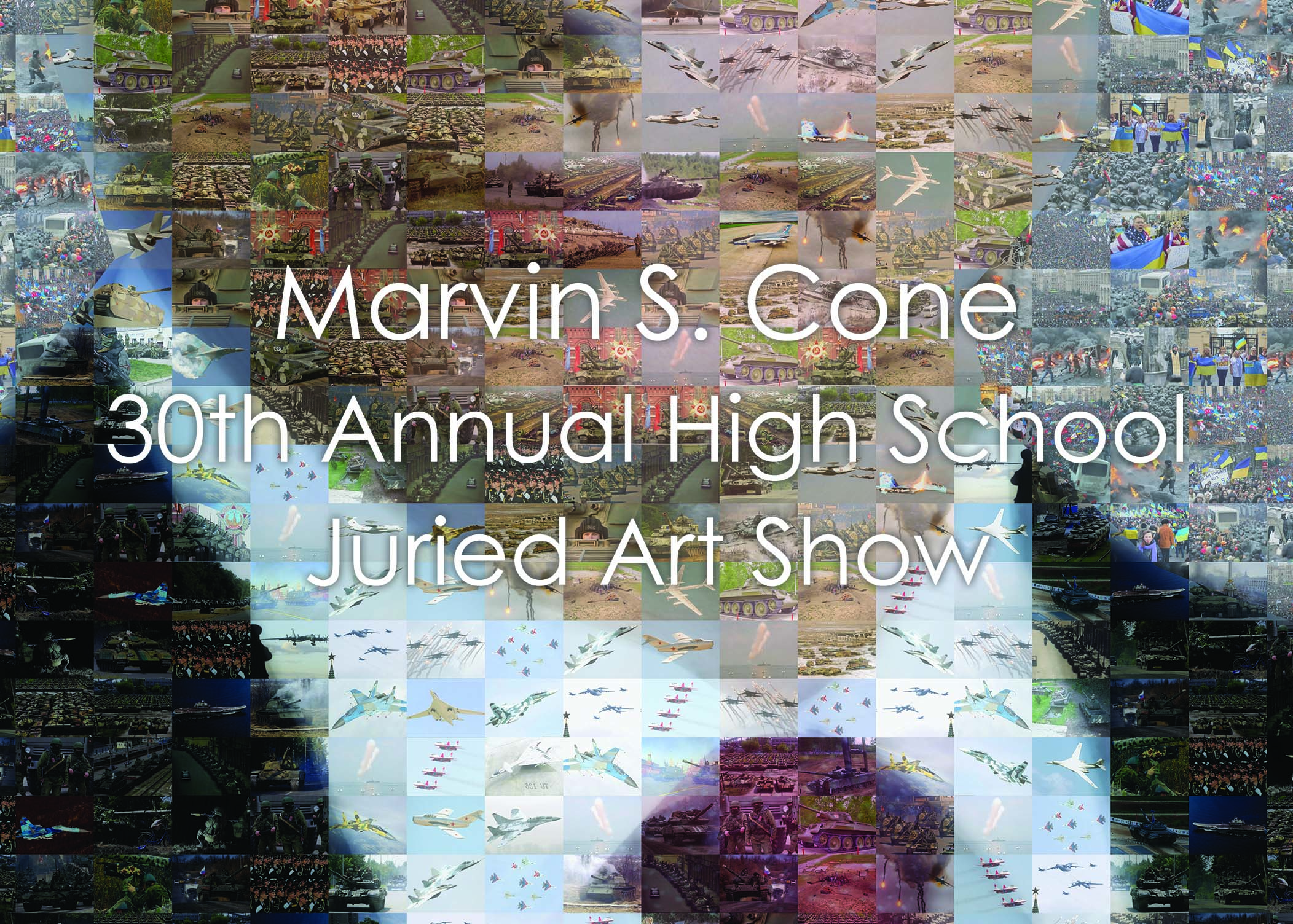 Marvin S. Cone 30th Annual High School Juried Art Show