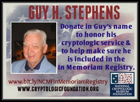 In Memoriam Guy Stephens