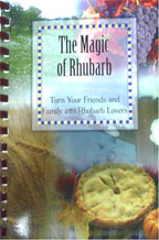 Magic of Rhubarb cookbook